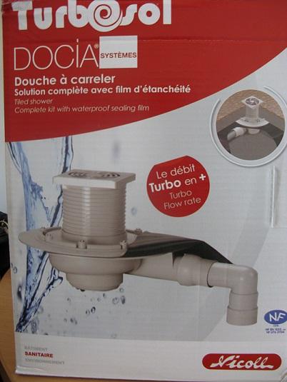 Kit carreler 180 x 210 sp cial douche italienne kit carreler baignoire et sanitaire douche - Kit douche italienne ...