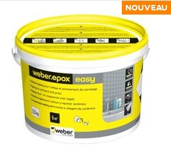 Joint carrelage poxy weber epox easy pour carrelage et for Joint carrelage hydrofuge weber