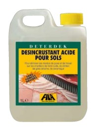 Deterdek : produit 1er nettoyage après la pose du carreaux. Fila SA colles carrelage et produits ...