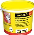 Colle carrelage Weber.fix Plus en seau