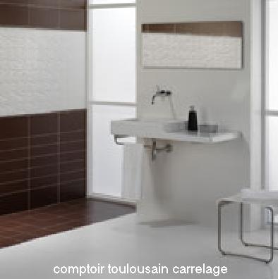 Carrelage salle de bain carrelage en ligne faiences for Carrelage 20x40 blanc
