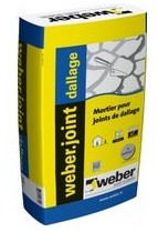 Joint Weber pour dallage - Mortier pour joint extra large