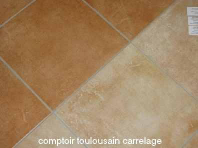 Carrelage 34x34 carmel parefeuille provence parefeuille for Faience 11x11 blanc