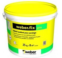 Weber Fix Pro Colle En Seau De 25 Kg