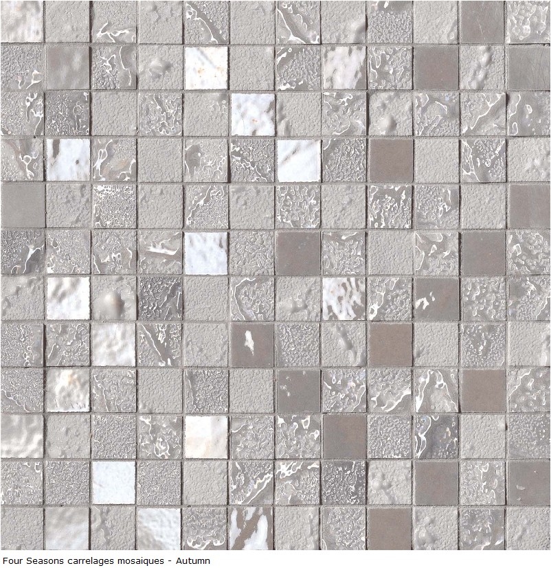Carrelage d co mosaique en gr s c rame 30x30 s rie four for Mosaique ardoise salle de bain
