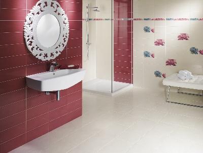 Carrelage 15x30 glam faience salle de bains mainzu - Decoration carrelage salle de bain ...