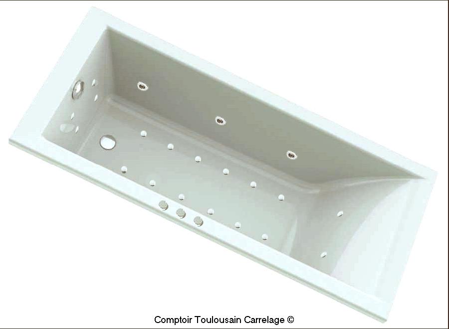 baignoire balneo droite baignoire balneo et spa carrelage. Black Bedroom Furniture Sets. Home Design Ideas