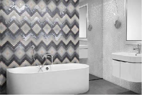 carrelage mosaique en grés cérame 30x30 - série four seasons mix ... - Mosaique Carrelage Salle De Bain