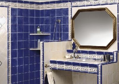 Carrelage mural 15x15 estilantic mainzu mainzu carrelage salle de bain fa ence couleur for Faience bleue salle de bain