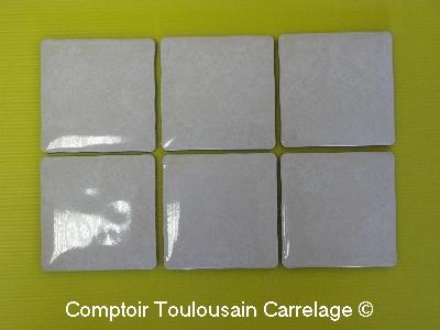 Carrelage en ligne faiences cuisine sanitaire toulouse paris - Carrelage 10x10 blanc ...