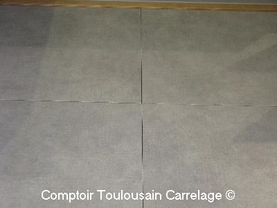 Carrelage 61 5x61 5 alumiland et 61 5x121 5 titanium for Choix carrelage