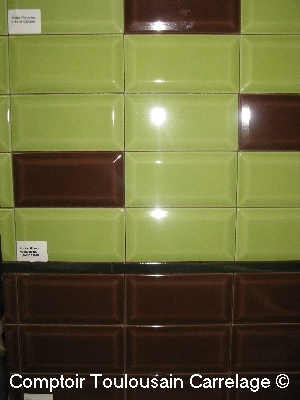 carrelage metro 7,5x15-épaisseur 9mm-Nouvelles couleurs 7,5x15 carrelage salle de bain metro