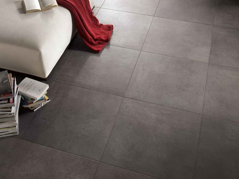 Carrelage 45x45 gris anthracite for Carrelage parquet gris