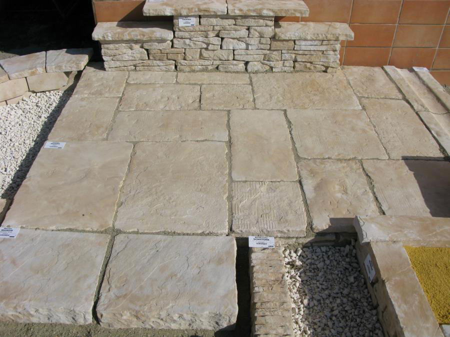 Dallage manoir gironde bradstone bradstone dallage for Dalle exterieur point p