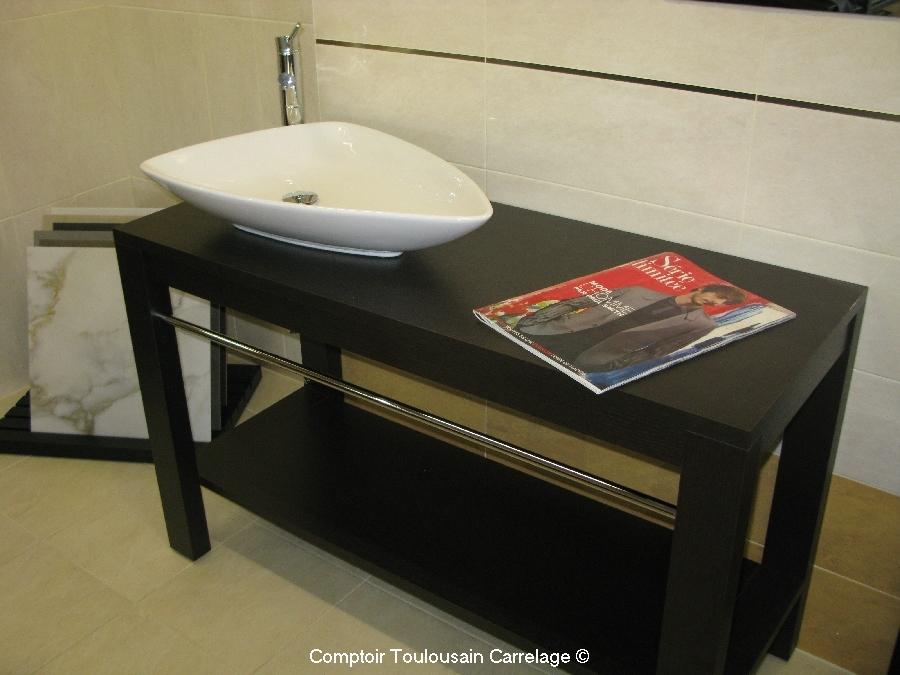 vasque menton moderne blanche en c ramique porcelaine. Black Bedroom Furniture Sets. Home Design Ideas