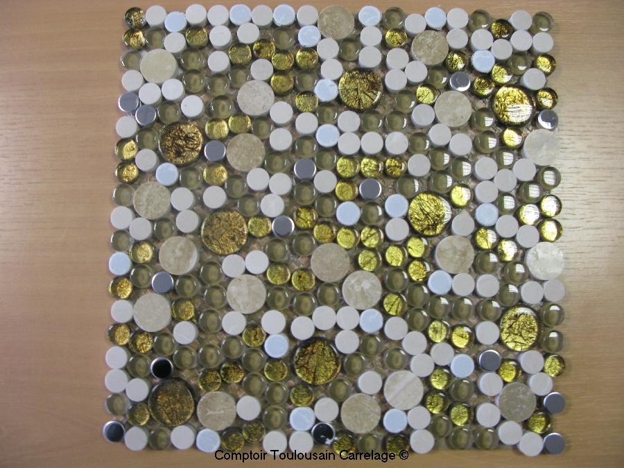 plaque de mosaique décorative - 30x30 mosaique et frise ... - Plaque Mosaique Salle De Bain