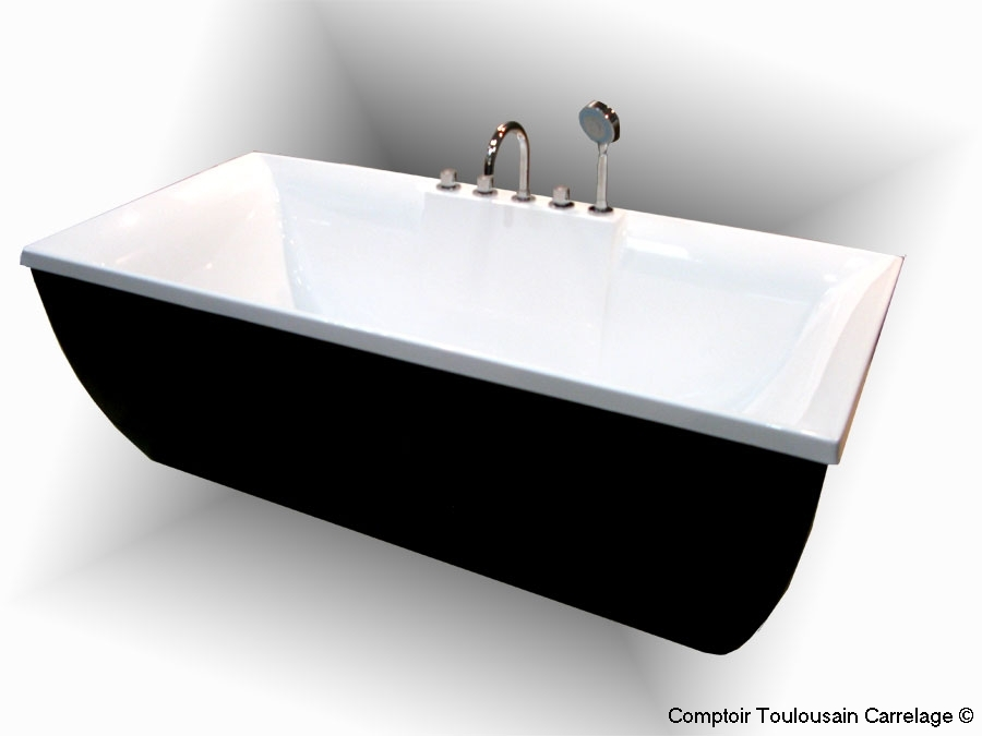Carrelage en ligne faiences cuisine sanitaire toulouse paris for Baignoire ilot avec robinetterie integree