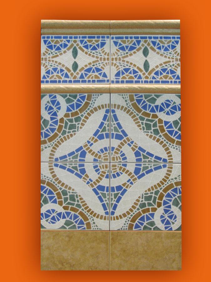 Carrelage andalous 20x20 zocalo azulejos 1er choix for Carrelage 20x20 couleur