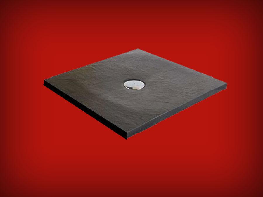 receveur de douche extra plat finition pizarra de resigres resigres baignoire et sanitaire. Black Bedroom Furniture Sets. Home Design Ideas