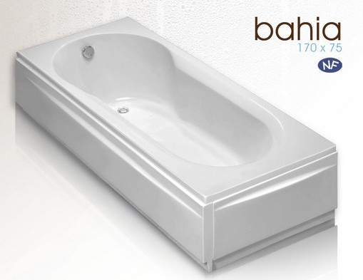 Carrelage en ligne faiences cuisine sanitaire toulouse paris for Dimension baignoire droite