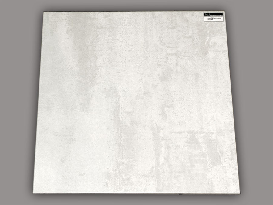 Carrelage 60x60 et 30x60 corten blanco tau ceramica tau for Carrelage sol interieur blanc brillant