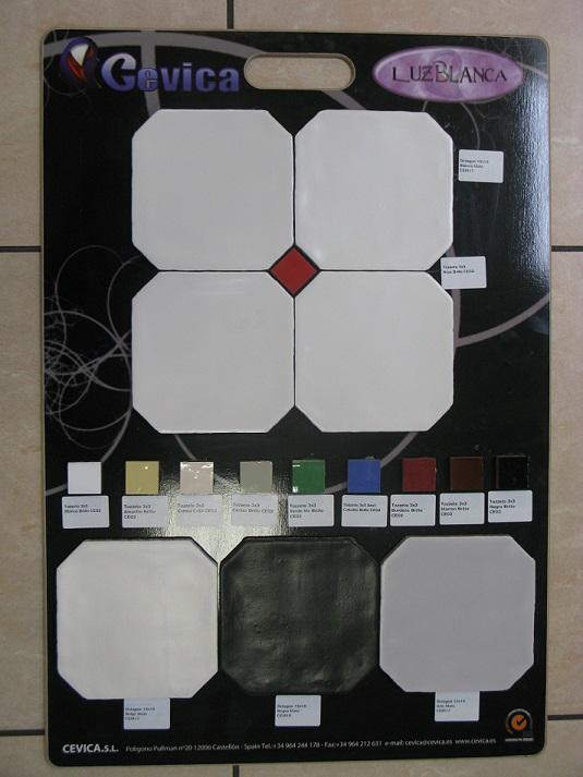 Carrelage en ligne faiences cuisine sanitaire toulouse paris for Carrelage octogonal blanc