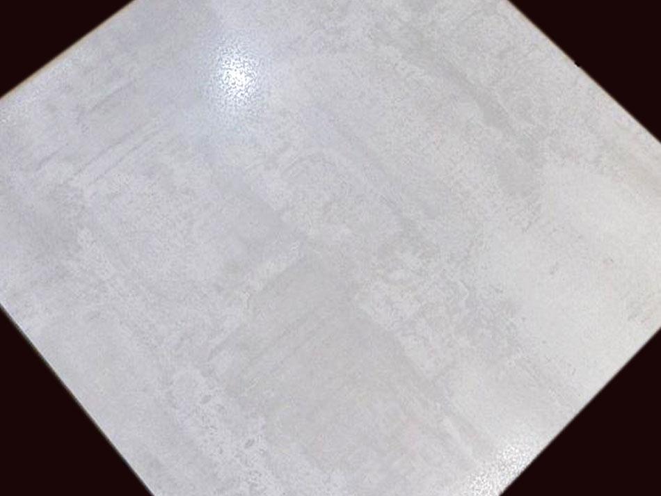 Carrelage 60x60 corten blanco sp brillant effet m tal for Carrelage brillant 60x60