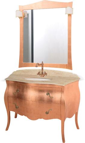 meuble salle de bains italien mozart 124 foglia rame global trade sl salle de bains meuble de. Black Bedroom Furniture Sets. Home Design Ideas