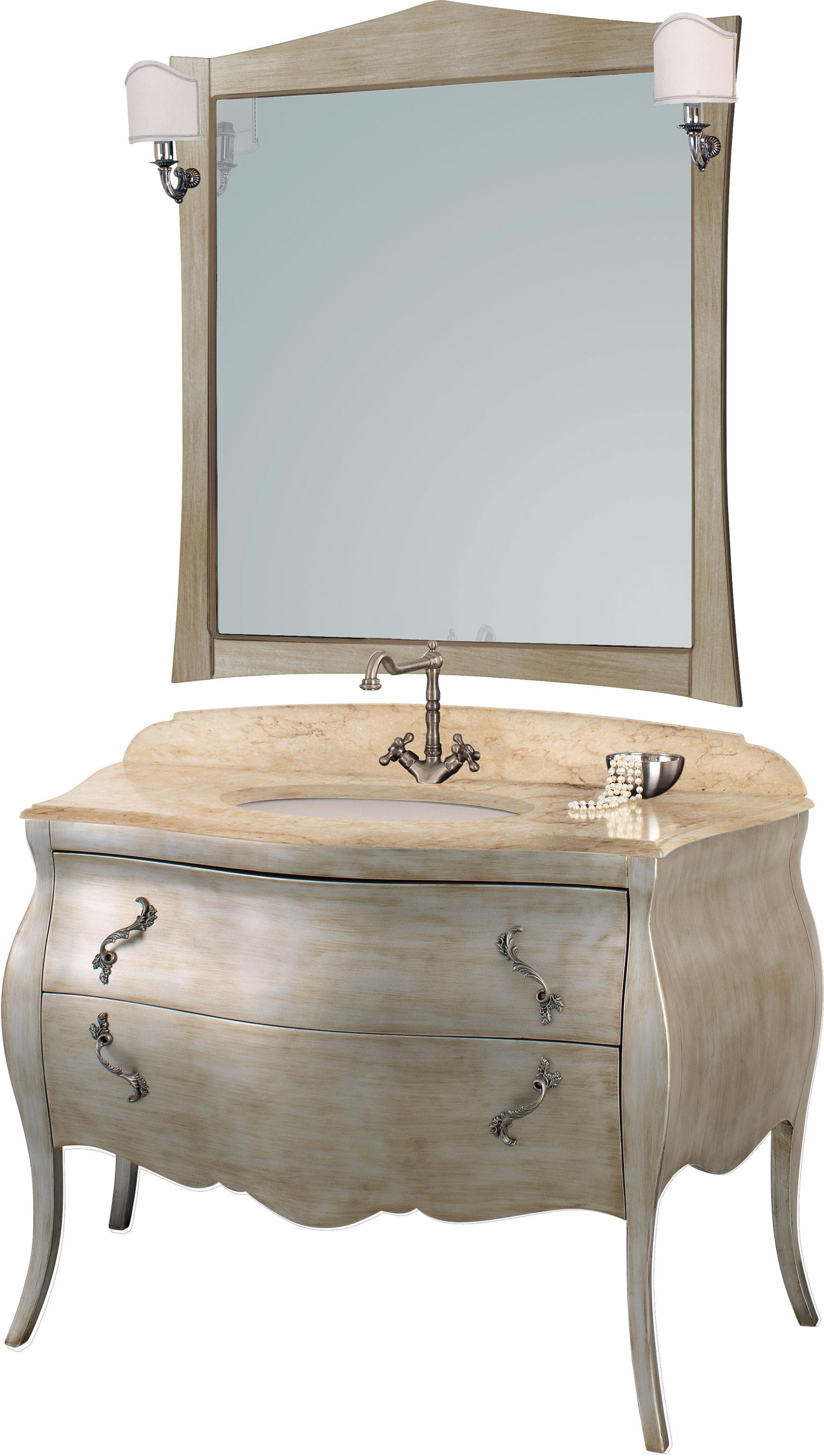 meuble salle de bains italien mozart 124 argento anticato for meuble 90x60