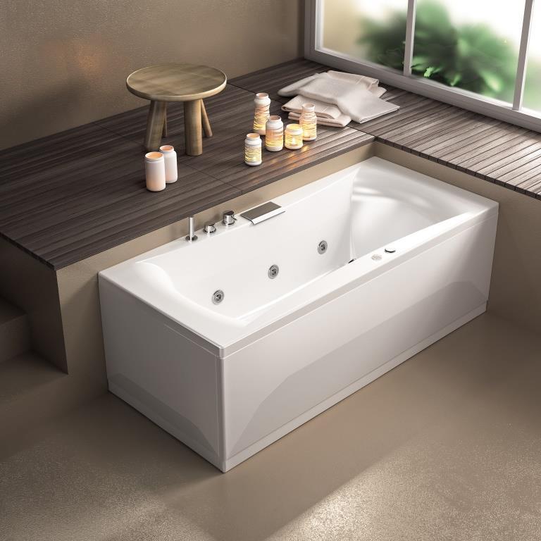 baignoire balneo 180x80 star mixte kinedo kinedo baignoire balneo et spa droite. Black Bedroom Furniture Sets. Home Design Ideas