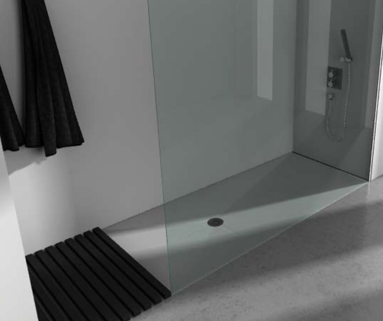 receveur de douche extra plat dimension 70x90 70x200 finition pizarra de resigres resigres. Black Bedroom Furniture Sets. Home Design Ideas