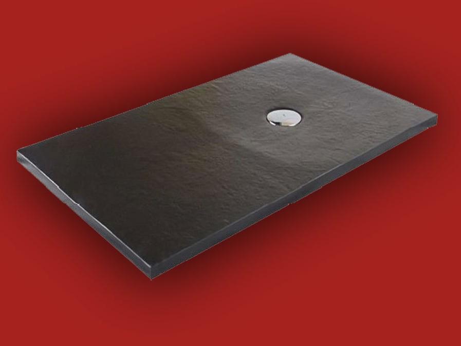 Receveur de douche extra plat dimension 90x90 90x210 finition pizarra de - Receveur a carreler recoupable ...