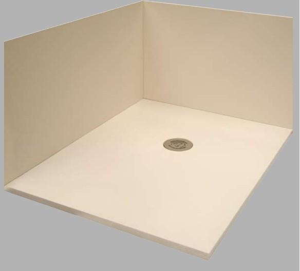 Receveur de douche extra plat dimension 100x100 100x210 finition pizarra - Devis remplacement baignoire ...