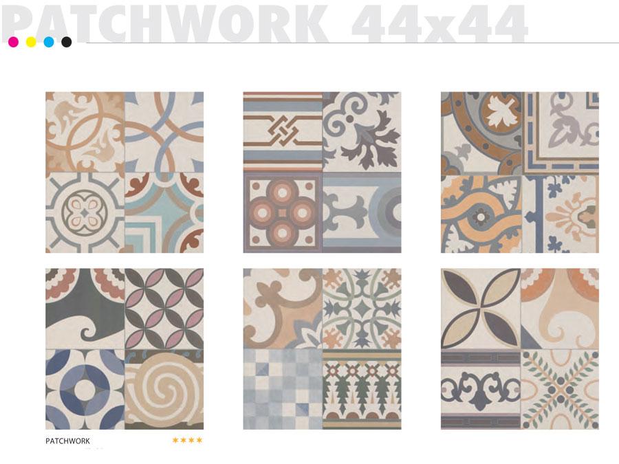 Carrelage 44x44 Patchwork Realonda Carrelage 1er Choix Realonda