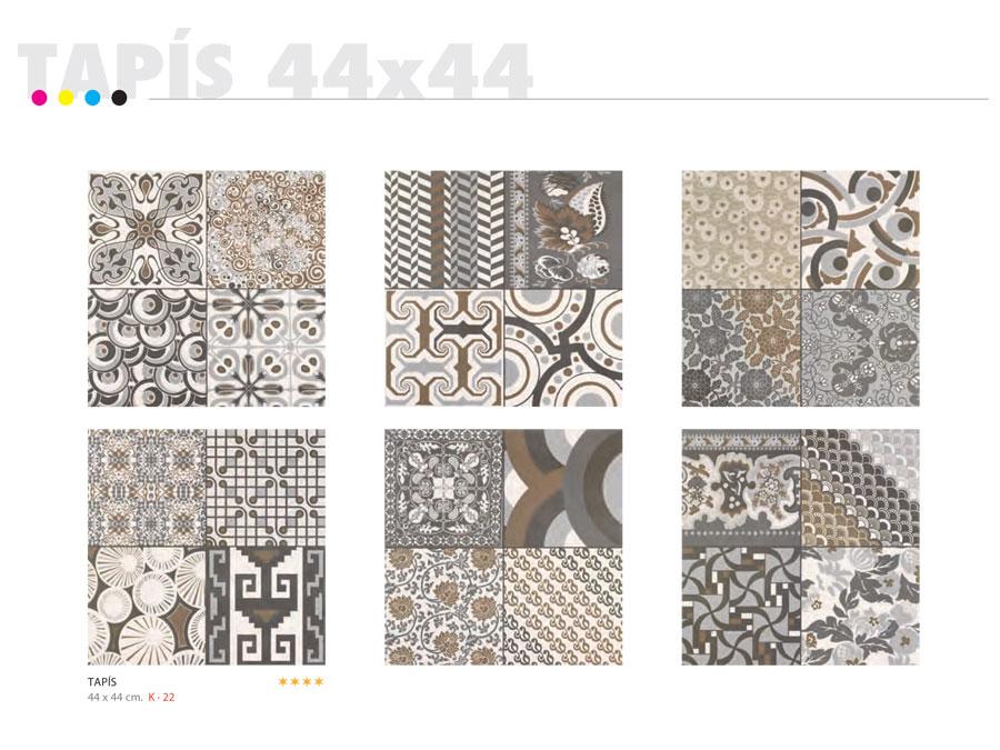 Carrelage 44x44 tapis realonda carrelage 1er choix for Carrelage espagnol