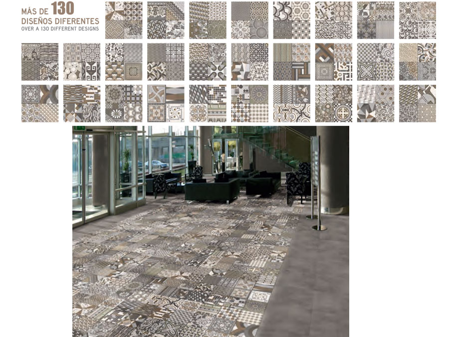 Carrelage 44x44 tapis realonda carrelage 1er choix for Choix carrelage