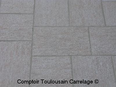 Pav en gr s c rame flaviker pave exterieur carrelage for Carrelage granito prix