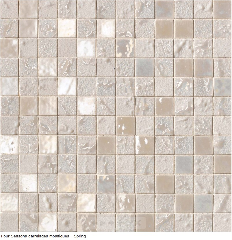 Carrelage d co mosaique en gr s c rame 30x30 s rie four for Carrelage fin de serie