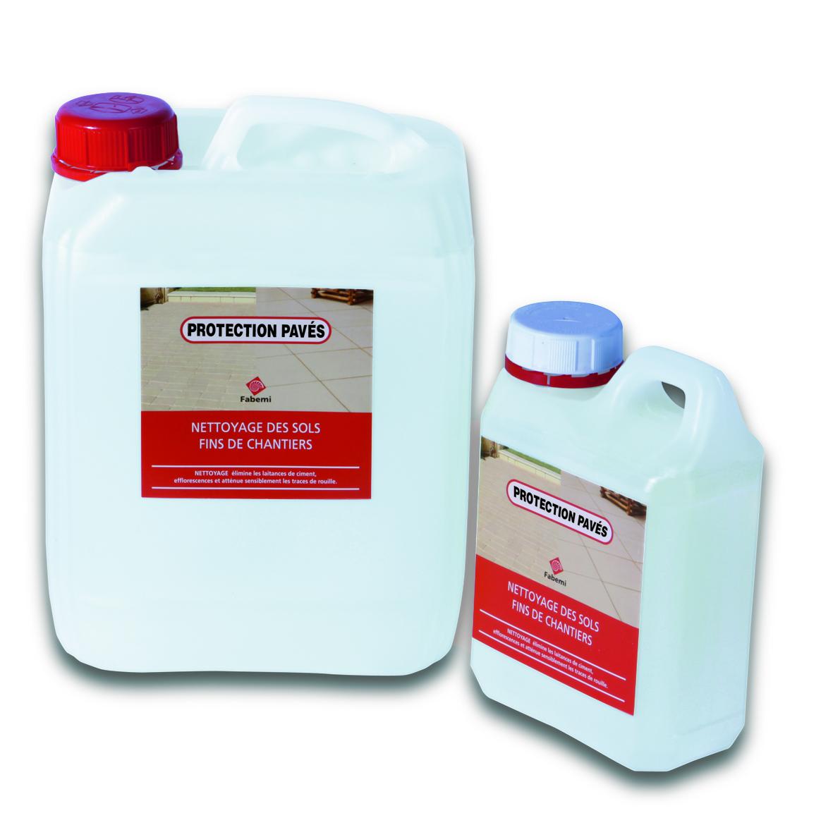 Protection pav s pour les pav s carr d 39 arc ou bradstone for Produit pour carrelage exterieur