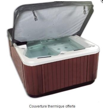 Spa a200 2 places couch s kinedo kinedo baignoire balneo et spa spa - Couverture thermique spa ...