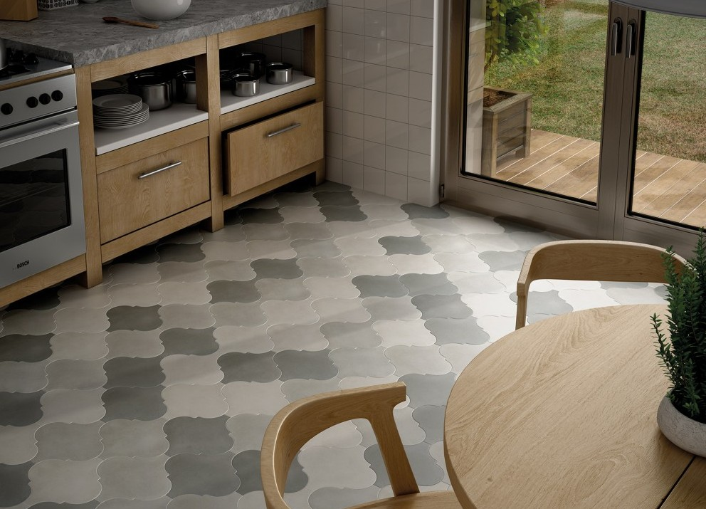 Carrelage 26 5x26 5 curvytile equipe ceramicas equipe ceramicas carrelage sol interieur ciment - Carrelage ciment provencal ...