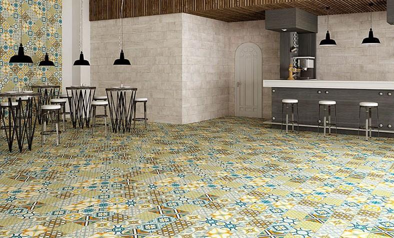 Carrelage sol et mur 45x45 et 60x60 heritage tau ceramica for Carrelage sol interieur 60x60