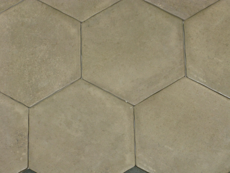 Carrelage hexagonal sol et mur 15x15 cement durstone for Carrelage hexagonal blanc