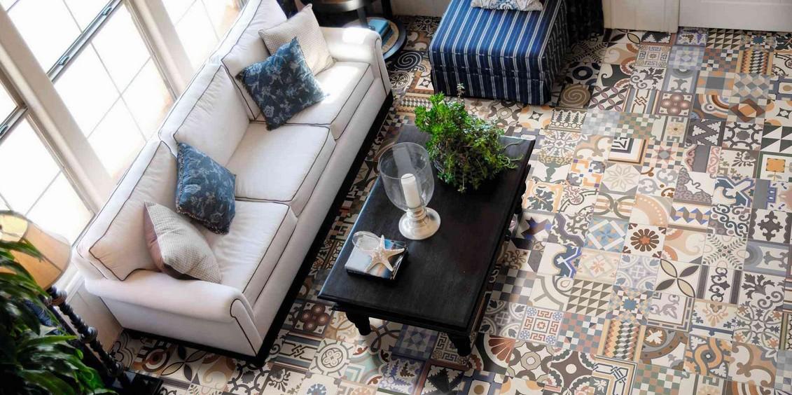 carrelage 44x44 patchwork realonda carrelage 1er choix realonda carrelage sol interieur. Black Bedroom Furniture Sets. Home Design Ideas
