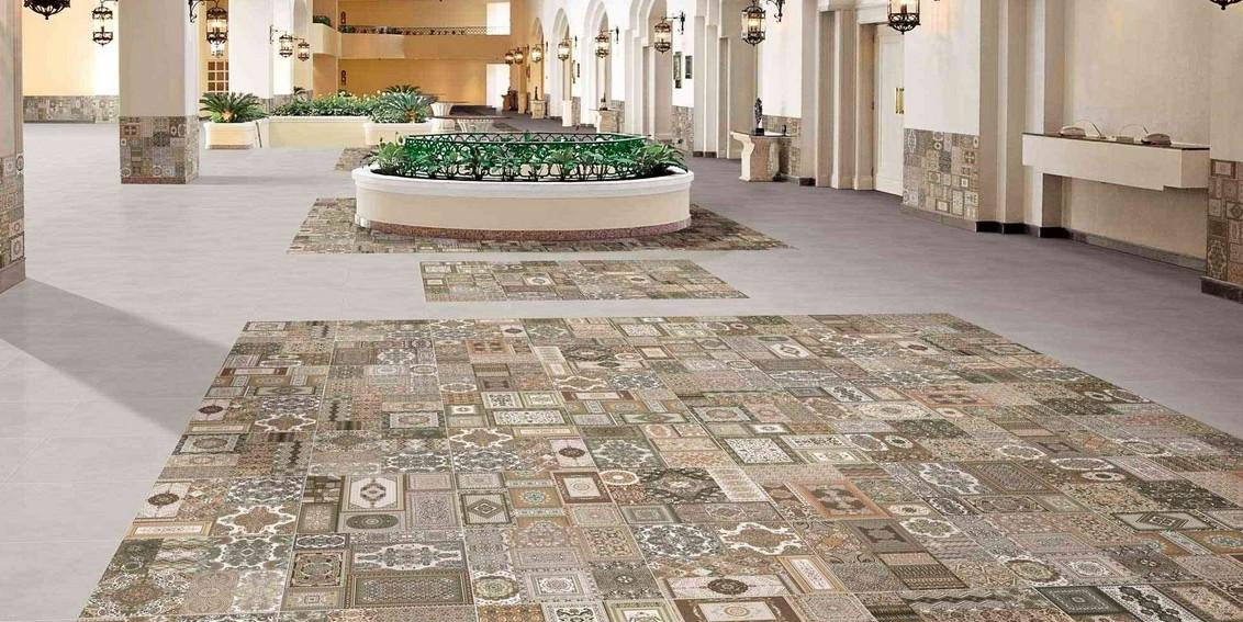 Carrelage vintage sol et mur 44x44 kilim realonda for Showroom carrelage paris