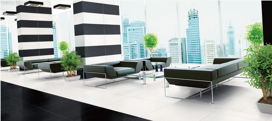 Carrelage sol 60x60 blanc mat ou noir mat rectifi pleine for Carrelage blanc mat 60x60