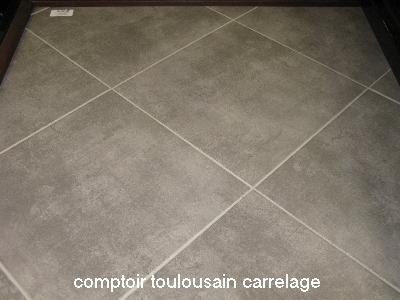 Carrelage time square gris tendance d co tuiles c ramiques for Carrelage vs parquet
