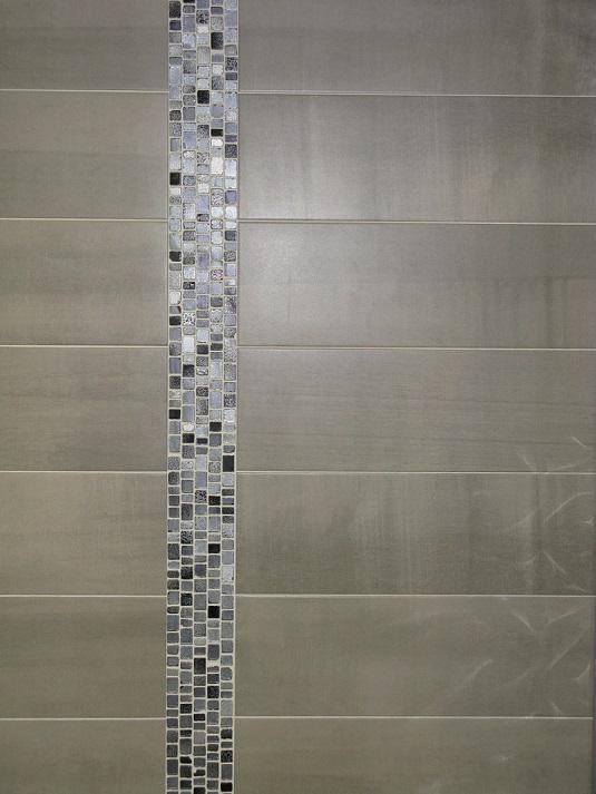 Carrelage mural 19x57 pass gris saloni saloni carrelage salle de bain fa ence - Plaque carrelage salle de bain ...