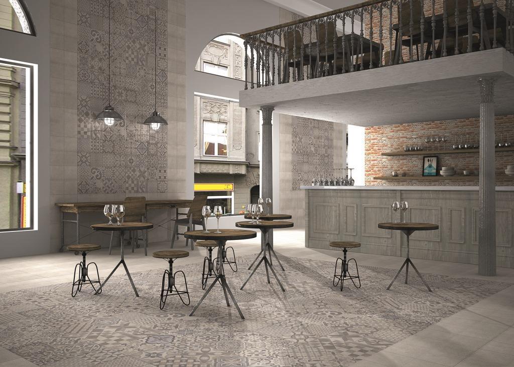 Carrelage vintage sol et mur 44x44 skyros realonda realonda carrelage sol i - Ciment decoratif interieur ...