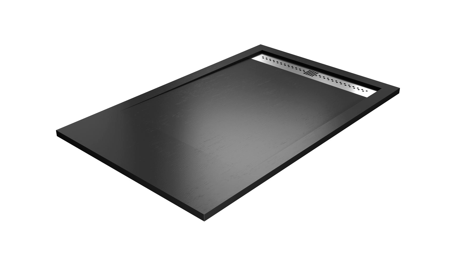 receveur de douche caniveaux 90x110 90x200 fabrication fran aise aquarell baignoire et. Black Bedroom Furniture Sets. Home Design Ideas